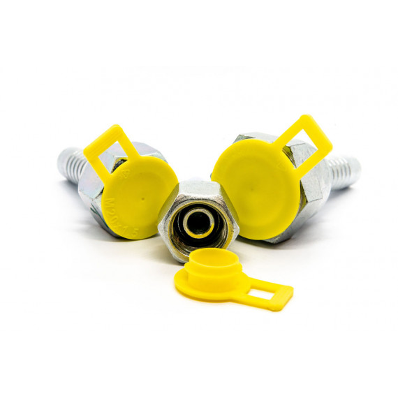 Metric Snap Fit Plug with Side Pull Tab